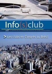 Les clubs en Congrès au Brésil