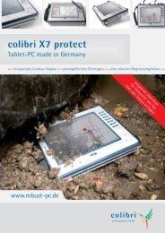 Datenblatt colibri X7 protect - robust-pc.de