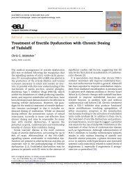 Treatment of Erectile Dysfunction with Chronic Dosing ... - Urosource