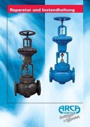 Reparatur und Instandhaltung - ARCA Regler Gmbh