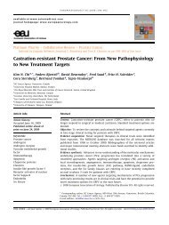 Castration-resistant Prostate Cancer: From New ... - Urosource