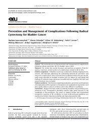 Prevention and Management of Complications ... - Urosource
