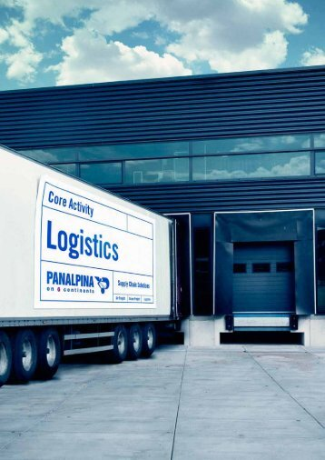 Logistik [pdf | 948 KB] - Panalpina