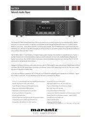 NA7004 Network Audio Player - Marantz