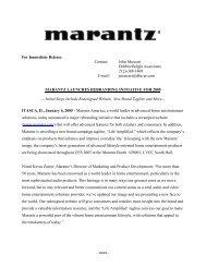 View this Article - Marantz