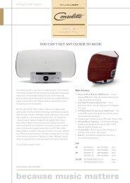 PDF Document - Marantz US | Home