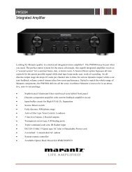 PM5004 Integrated Amplifier - Marantz