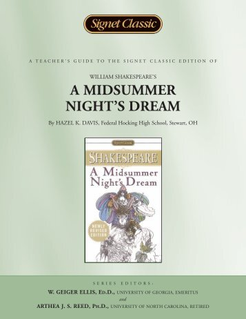 A Midsummer Night's Dream - Penguin Group