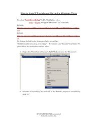 How to install TouchScreenSetup for Windows Vista - Marantz
