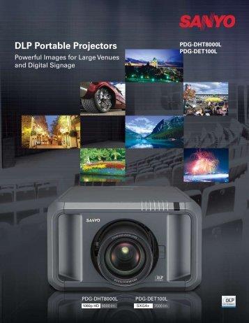 DLP Portable Projectors - Sanyo