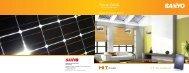 Bifacial Photovoltaic Module - Sanyo