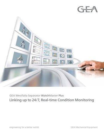 GEA Westfalia Separator WatchMaster Plus brochure