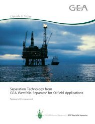 Separation Technology for Oilfield Applications Brochure