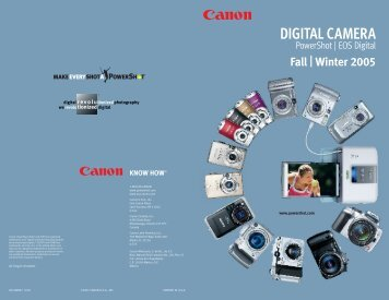 Winter 2005 - Canon USA, Inc.