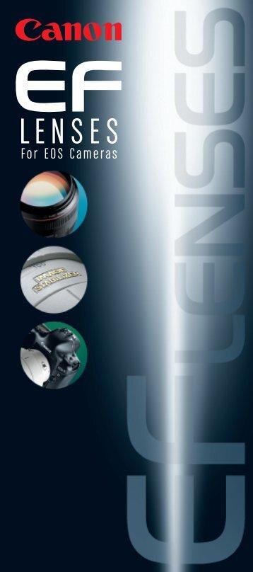 Canon EF Lens Accessories - Canon USA, Inc.