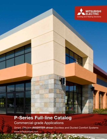 P-Series Full-line Catalog - Duncklee Cooling & Heating Inc.