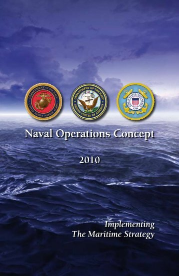 Naval Operations Concept - Defense Technical Information Center