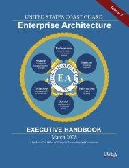 Enterprise Architecture Executive Handbook - U.S. Coast Guard