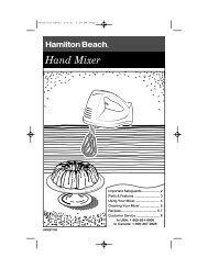 Hand Mixer - Hamilton Beach