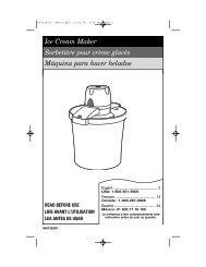 Ice Cream Maker Sorbetière pour crème glacés ... - PickYourOwn.org