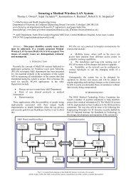 PacketNexus: Securing a Medical Wireless LAN System