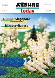 ARBURG Singapore Mikrospritzguss