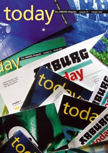todaydas ARBURG Magazin Ausgabe 25
