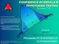 Confidence Intervals - Rowan - Rowan University