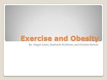 Exercise and Obesity - Rowan