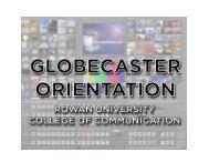PDF Document: Globalstreams GlobeCaster Orientation - Rowan