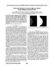Dynamic segmentation of breast tissue in digitized mammograms ...