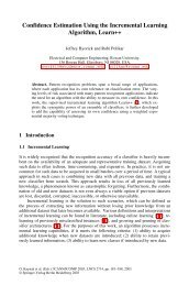Confidence Estimation Using the Incremental ... - ResearchGate