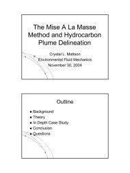 The Mise A La Masse Method and Hydrocarbon Plume ... - Rowan