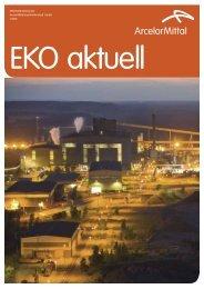 Mitarbeiterzeitung der Arcelormittal Eisenhüttenstadt Gmbh 1/2012