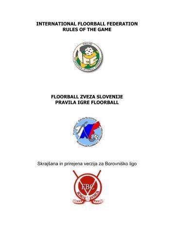 Pravila Borovniške lige