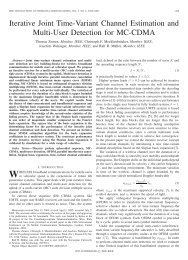 Iterative Joint Time-Variant Channel Estimation and ... - CiteSeerX