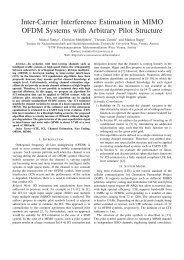Inter-Carrier Interference Estimation in MIMO OFDM Systems with ...