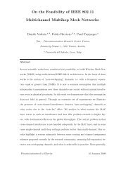 On the Feasibility of IEEE 802.11 Multichannel ... - FTW User Server
