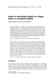 Gibson Ferguson English as Lingua Franca.pdf - University of ...