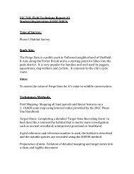Field Technique #1_A4 Report.pdf