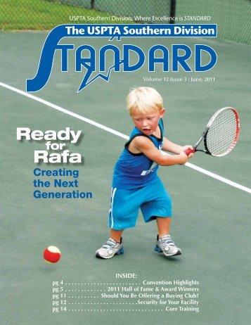 Ready Rafa - USPTA divisions - United States Professional Tennis ...