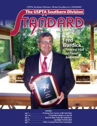 USPTA Southern Division: Where Excellence is STANDARD