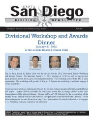 SD Newsletter Fall 2011 final.indd - USPTA divisions - United States ...