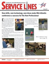 New drills, new technology, new ideas make Mid - USPTA divisions ...