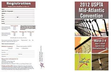 2012 USPTA Mid-Atlantic Convention - USPTA divisions