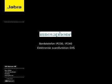 GN Netcom Corporate Presentation - Jabra
