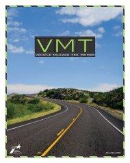 Vehicle Mileage Fee Primer - University Transportation Center for ...
