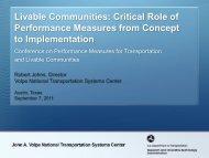 Livable Communities - University Transportation Center for Mobility
