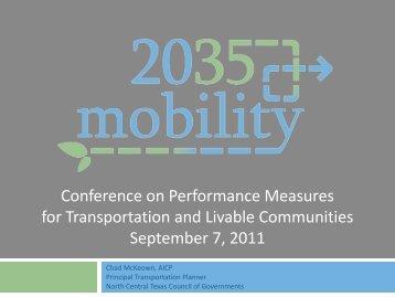 Slides - University Transportation Center for Mobility (UTCM)