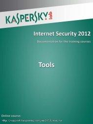 Tools - Kaspersky Lab